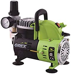 Grex AC1810-A 1/8 HP 120V Portable Piston Air Compressor