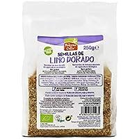 Semillas de lino dorado pulido bio gluten free - La Finestra sul Cielo - 250g (cja 6 uds) Total: 1500g
