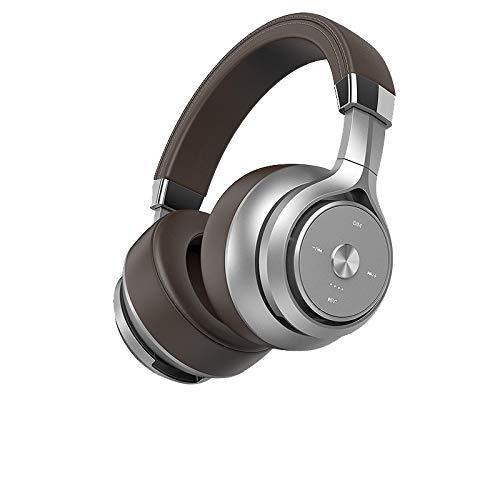 Nobrand Bluetooth koptelefoon Double Action Coil-koptelefoon HiFi-subwoofer ruisonderdrukking grote oorbeschermers