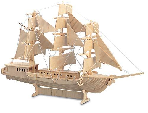 Quay Sailing Ship - Woodcraft Construction Kit
