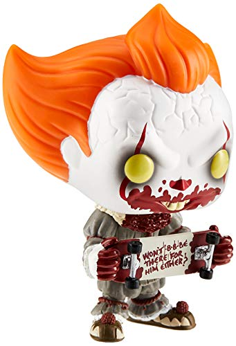 Funko- Pop. Vinyl: Movies: It: Chapter 2-Pennywise W/Skateboard Figura Coleccionable, Multicolor (40628)