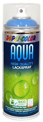 Dupli Color 252488 Acqua Vernice Spray, 350 ml, RAL 5012, Blu Luce Lucido