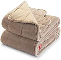 """Sunbeam Extra Warm Weighted Blanket 