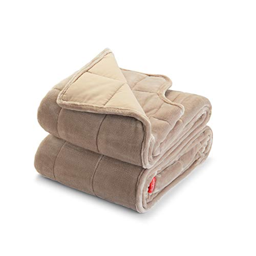 Sunbeam Extra Warm Weighted Blanket