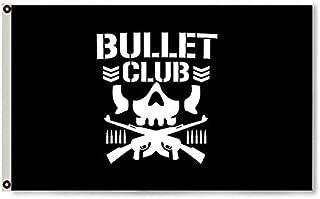 2But The Bullet Club Wrestling Wrestler Flag 3x5' Novelty Flag Banner