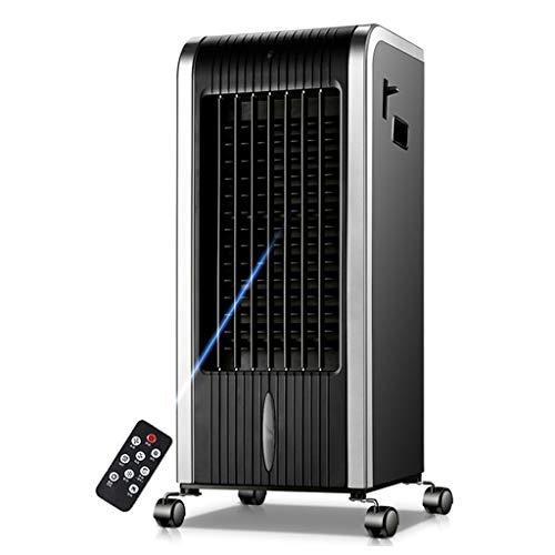 JIAC Ventilador de aire acondicionado multifunción portátil de 7L Moderno enfriador de aire 4 en 1, calentador de ventilador, purificador de aire y humidificador con temporizador de 8 horas - Platea