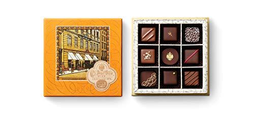 デメル DEMEL セレクション チョコレート ショコラ (Truffe9トリュフ 9粒入 キャラクター チョコボール セット)