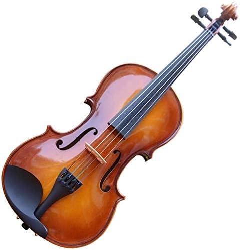 Max 60% OFF LIRONGXILY Acoustic Arlington Mall Violin Fiddle Beginner Stude Handmade