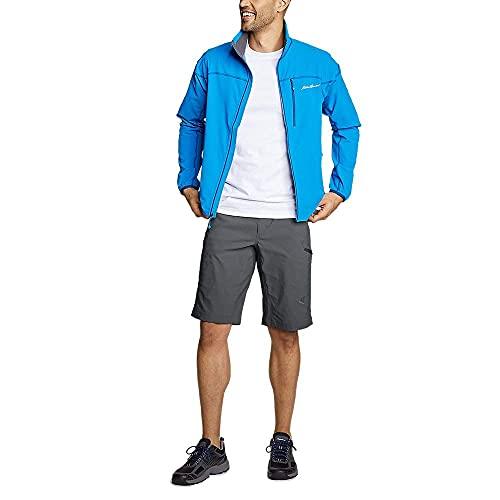 Eddie Bauer Men's Guide Pro Shorts, Dk Smoke Regular 34