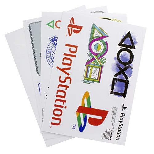 Paladone PlayStation Gadget Decals – 20 wiederverwendbare Vinyl-Aufkleber
