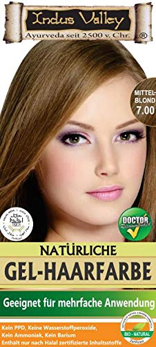 IndoNatura Indus Valley Gel-Haarfarbe Mittelblond