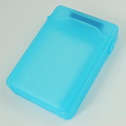Katigan Caja de Almacenamiento IDE/SATA HDD Disco Duro 3.5-Pulgadas (Azul)