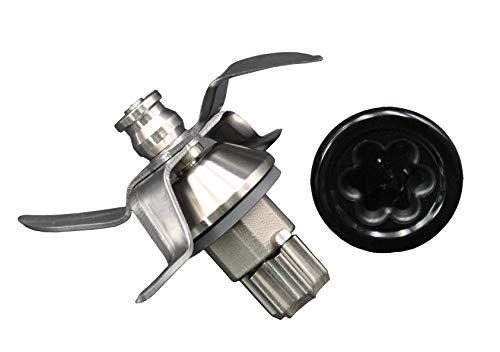 Ersatz Messer Mixmesser aus rostfreiem Edelstahl inklusive Dichtung und Kupplungseinsatz Mitnehmerritzel geeignet für Vorwerk Thermomix TM31 TM 31
