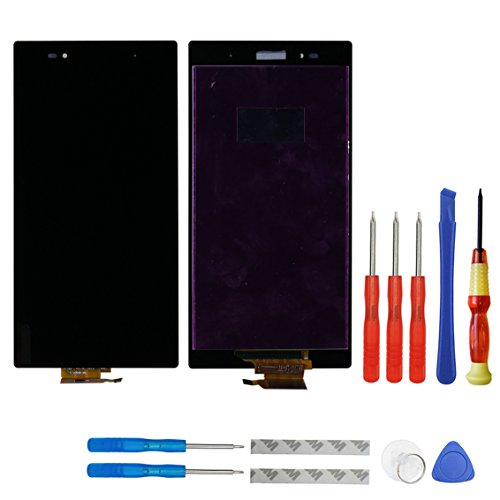 Display LCD per Sony Xperia Z Ultra XL39h XL39 C6802 Nero (senza cornice) + strumenti
