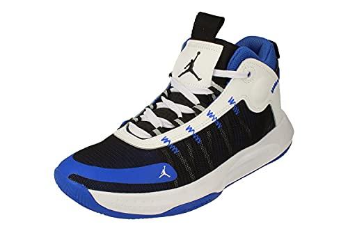 Nike Air Jordan Jumpman 2020 Hombre Basketball Trainers BQ3449 Sneakers Zapatos (UK 7 US 8 EU 41, Racer Blue Black White 401)
