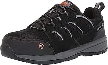 Merrell Men's Windoc Steel Toe Work Shoes, Black, 7