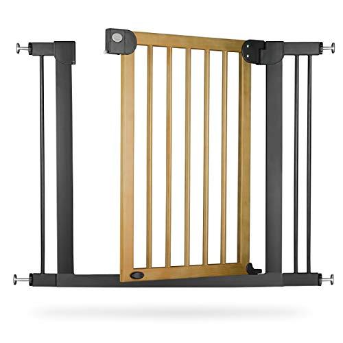 Treppengitter Treppenschutzgitter Türschutzgitter Kaminschutzgitter Holz Gitter Baby Ricokids