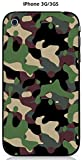 Onozo Coque Camouflage 1 Kaki Vert pour Apple iPhone 3G / 3GS