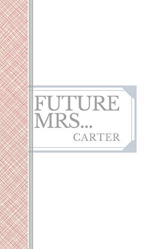 CARTER: Future Mrs Carter: 90 page sketchbook 6x9 sketchbook