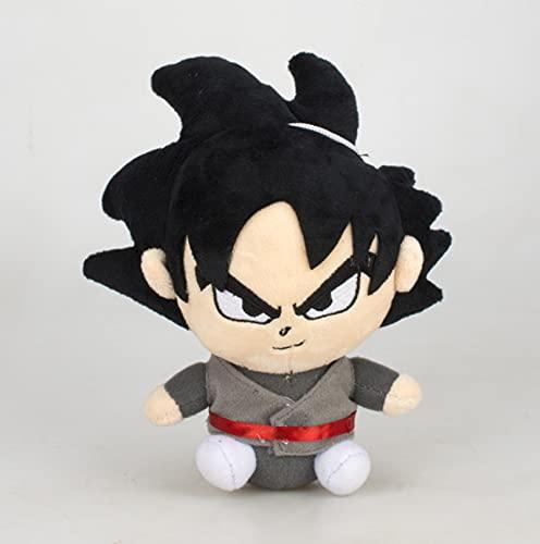 18Cm Anime Dragon Ball Goku Peluche de Juguete Figura de acción Figura Goku Muñeco de Peluche Suave Regalo del día de los niños de Navidad