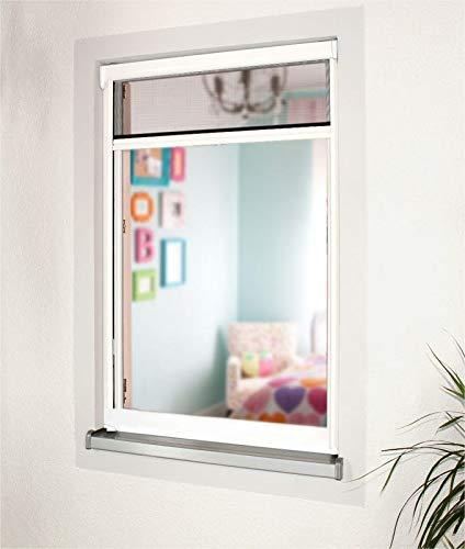 Sun World Insektenschutzrollo Schutz nach Maß für Fenster und Türen, Rollos, alle Größen, Alu, Fliegengitter (Höhe: 191-200cm x Breite: 91-100cm)