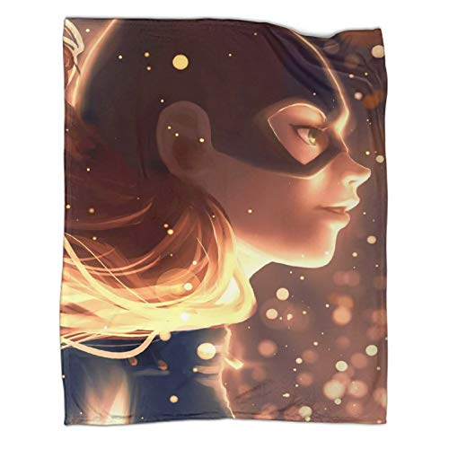Xaviera Doherty Batwoman Comics DC Superhero populares Mantas de 150 x 200 cm, suaves y cómodas, regalo perfecto