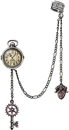 Alchemy of England Steampunk Uncle Albert's Timepiece Ear Cuff Earring Jewelry