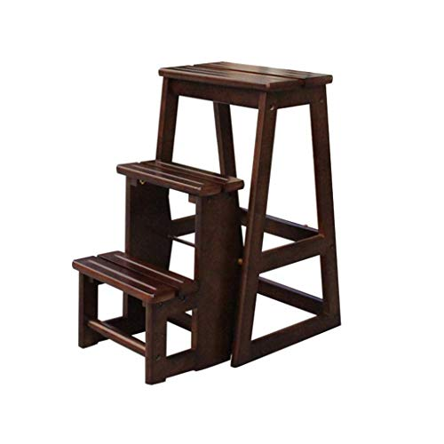 ZHJBD Meubelkruk / 3 Tier Hout, Houten Bloemenplank Ladder, Tuin Thuis Balkon Buiten Display, Bedstappen/Plant Stand 300 lb Capaciteit