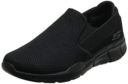 Skechers Equalizer 3.0- Sumnin, Zapatillas sin cordones Hombre, Negro (Black Bbk), 43 EU