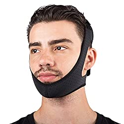 top rated Sleep Legend Premium Anti-Snoring Chin Strap with New Adjustable Velcro for CPAP Users… 2021