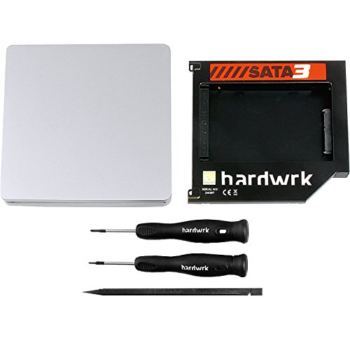 hardwrk SATA3-Adapter-Umbau-Kit - kompatibel mit Apple MacBook (Pro) 13