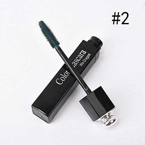 Blue Vessel Mascara Wimperntusche Make up Waterprrof New (Olive grün)