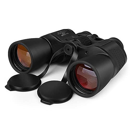 Prismáticos 10x50 Slokey - Binoculares Profesionales Y Potentes con Gran Alcance. Ligeros,Prismas BaK4 Y FMC. Ideales para Observación De Aves, Caza, Senderismo, Astronomía Y Camping