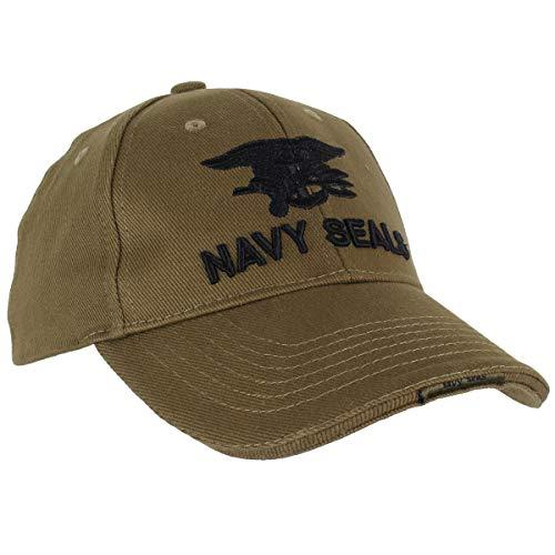 Fostex Garments Sombrero de béisbol Militar Navy Seals bordado verde oliva Talla única