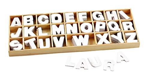 Assortiment de lettres en bois VBS