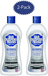 Bar Keepers Friend Cooktop Cleaner 13-Ounce Bottle 2pk