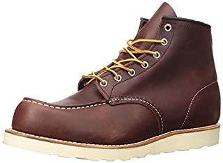 Red Wing Heritage Men's Classic Work 6-Inch Moc Toe Boot,Brown,8 D US (B0018DZ5Q2) | Amazon price tracker / tracking, Amazon price history charts, Amazon price watches, Amazon price drop alerts