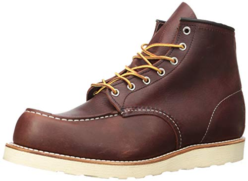 Red Wing Shoes Mens Briar Oil Slick 6-Inch Moc Toe Boots-UK 9.5 / EU 43.5