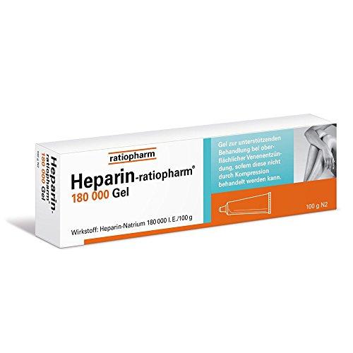 Heparin-ratiopharm 180000 100 g