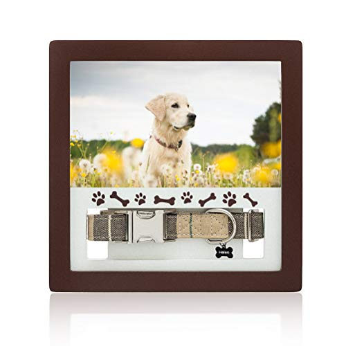 BINGPET Dog Memorial Picture Frame - Pet Memorial Sentiment Frame - Dog Memorial Gifts for Your Love Doggy & Cats
