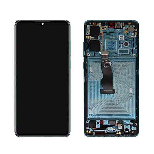 LQIAN Pantalla LCD Pantalla AMOLED Fit For Huawei P30 Pantalla ELE-L29 ELE-L09 ELE-AL00 Pantalla LCD Reemplazo Digitalizador Digitalizador de la Pantalla táctil (Color : Aurora Blue Frame)