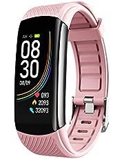 XD7 C6T Temperatuurmeting Armband Horloge Bloeddruk Hartslag Informatie Pulse Slaap Oefening Stappenteller Smart Armband voor Kinderen Vrouwen en Mannen
