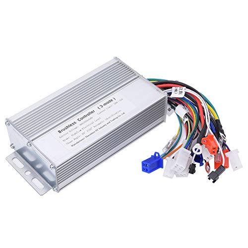 FEBT Controlador sin escobillas de Motor, 48V 60V 64V 1000W-1500W Controlador de...