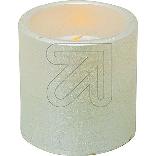 Izaneo - Bougie de noel artificielle naturel led blanc chaud