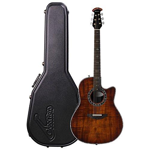 Ovation Legend Plus Koa Burst C2079AXP-KOAB - Guitarra acústica eléctrica (con cutaway profundo)