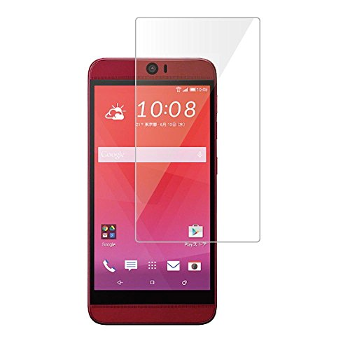 HTC J butterfly HTV31 強化ガラス 液晶保護フィルム ガラスフィルム 9H 0.3mm 指紋防止 バタフライ