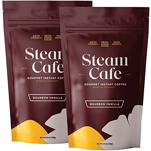 SteamCafe Gourmet Flavored Instant Coffee