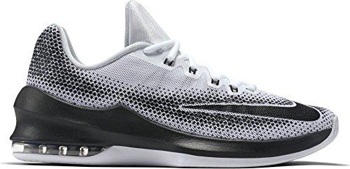 Nike Nike Air Max Infuriate Low - white/black-wolf grey-pure pla, Größe #:7