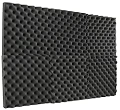 "2"" Convoluted Acoustic Wall Panels provide an ultra clean look and SUPERB sound absorption Great for spot treating sound on walls in your studio or office - For use in recording studios, control rooms, Offices home studios, home entertainment theater..."