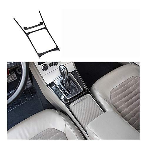 Yuanyuan Control Central Lsrtw2017 Acero Inoxidable Ventana de Coche Vent Gear Las Decoraciones en Forma for el Volkswagen Passat B7 2012 2013 2014 2015 2016 (Color Name : B7 Cup Panel Trims 1)
